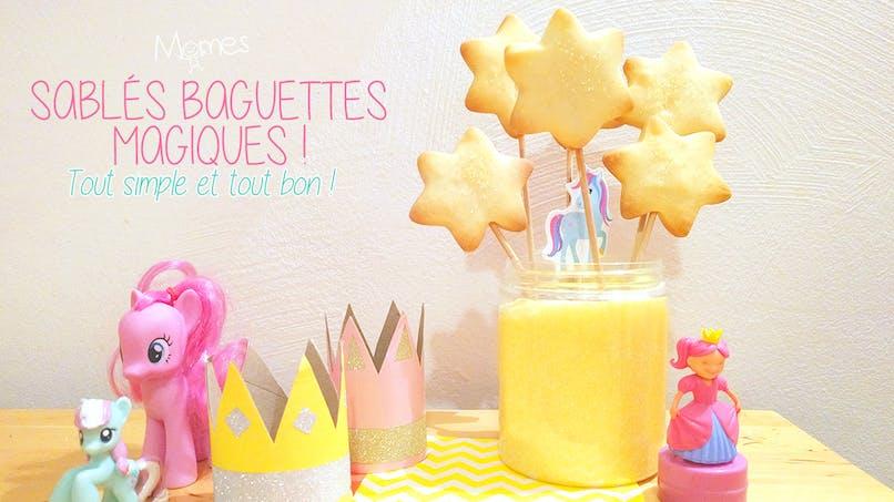 biscuit baguette magique