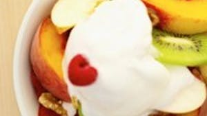 Salade de fruits au pain