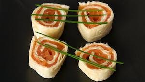 Sandwich sushi pour les petits
