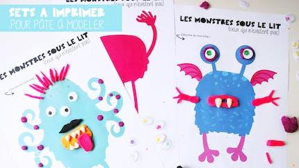 Set de Monstres à décorer