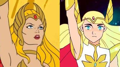 Reboot She-Ra et les princesses du pouvoir soeur Musclor       Netflix