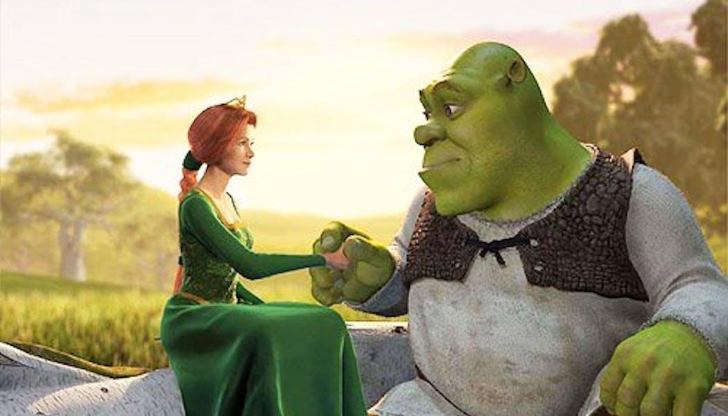 Shrek et Fiona (Shrek)