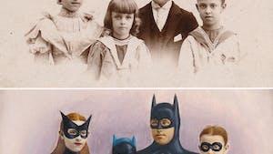 Si nos ancêtres étaient des héros de la pop culture, voici à quoi ils ressembleraient !