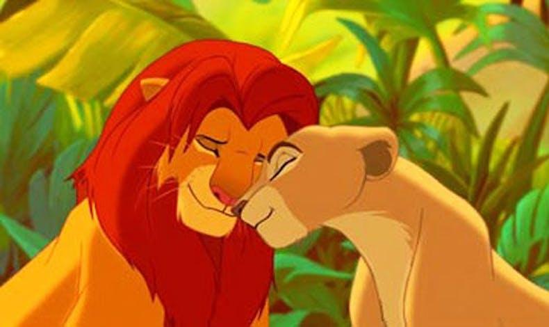 Simba et Nala (Le Roi Lion)
