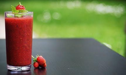 Smoothie à la fraise : une boisson pleine de vitamines