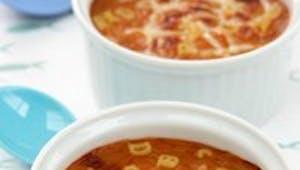 Soupe au jus de légumes et aux nouilles