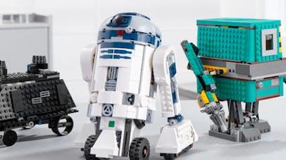kit lego star wars boost droid commander robot à       programmer code R2D2