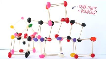 Structures en bonbons et cure-dents !