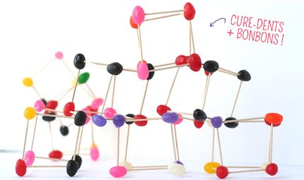 Structures en bonbons et cure-dents !