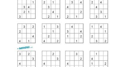 Sudoku enfant