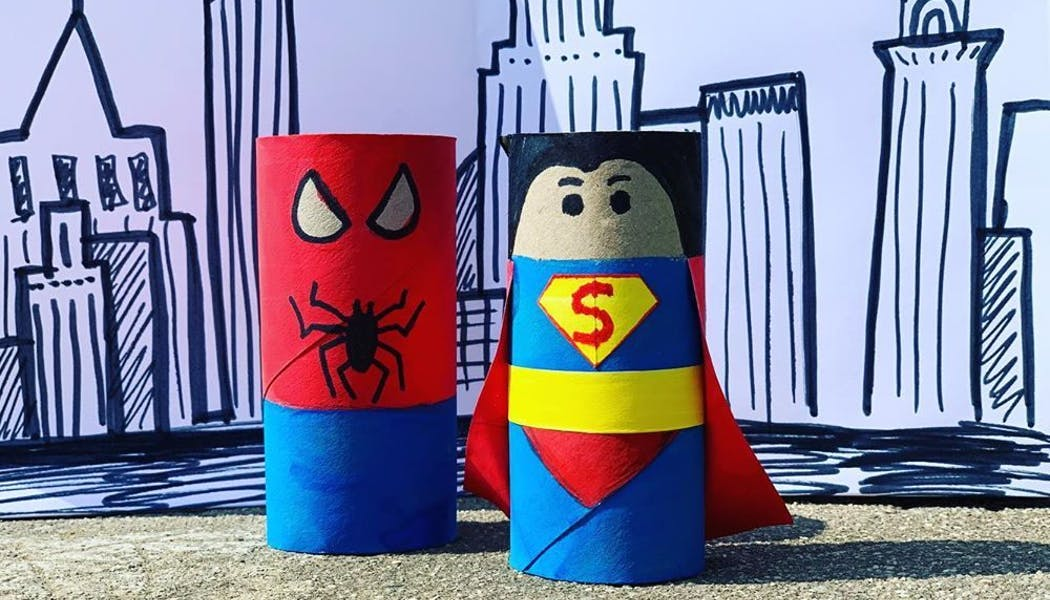 Super héros rigolos