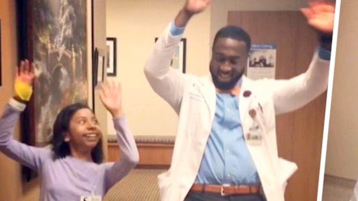 dancing doctor tony adkins docteur danse pour enfants       hospitalisés