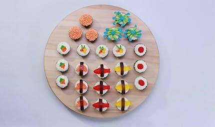 Sushi bonbons