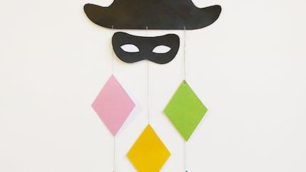 Suspension Arlequin pour le carnaval !