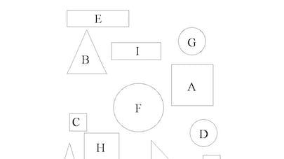 forme geometrique a classer