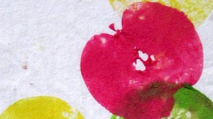 Tableau Empreinte De Pommes