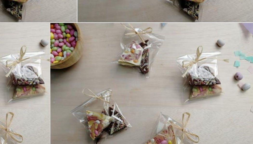 Tablettes de chocolat personnalisables