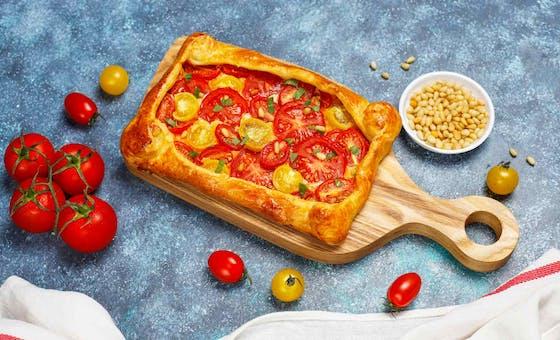 Tarte à la tomate, une recette hyper simple mais savoureuse