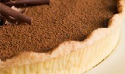 Tarte caramel-chocolat