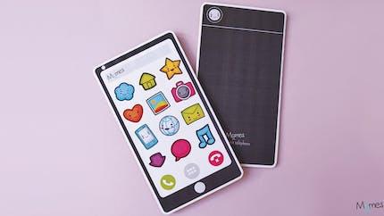 Téléphone portable à imprimer pour jouer
