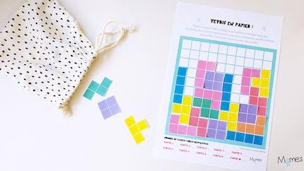Tetris à imprimer