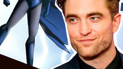 The Batman film Robert Pattinson costume histoire       casting