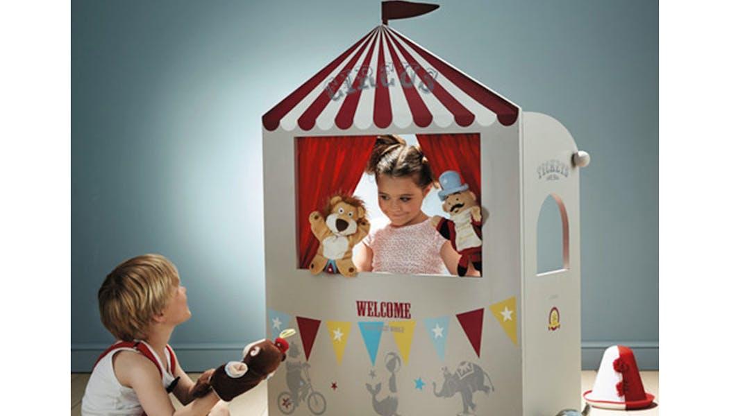 décoration vintage chambre d'enfant