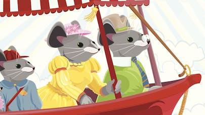 comptine Three blind mice
