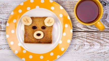 Toast ourson à la banane