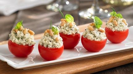 Tomates farcies au Boursin ®, une recette qui sent bon l'été !