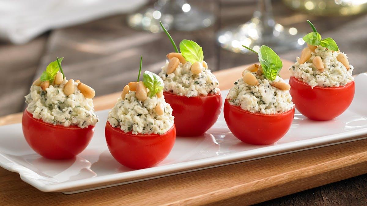 Tomates farcies au Boursin