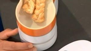 Torsades feuilletées au parmesan