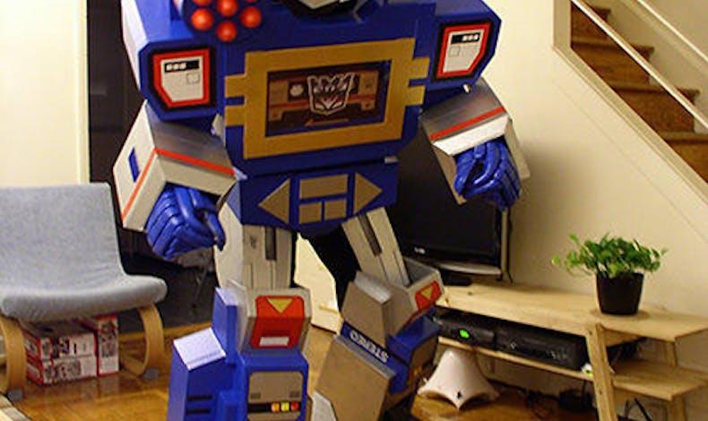 Transformers en carton