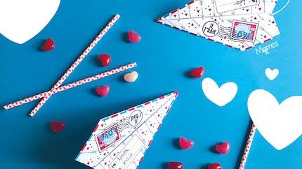 """Un avion pour dire """"Je t'aime"""""""