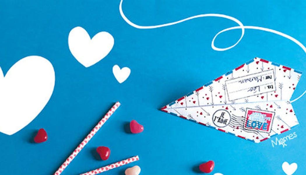 Un avion pour dire « je t'aime »