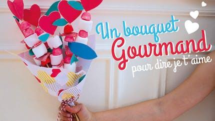 Un bouquet gourmand pour dire je t'aime !