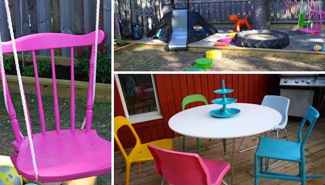 Un espace de jeux coloré et ludique
