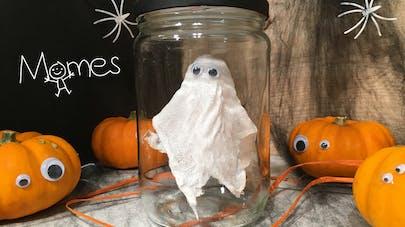 Un Fantôme en bocal pour Halloween