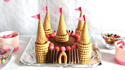 Un gâteau château de princesse !