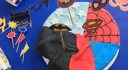 Un gâteau d'anniversaire digne des super-héros