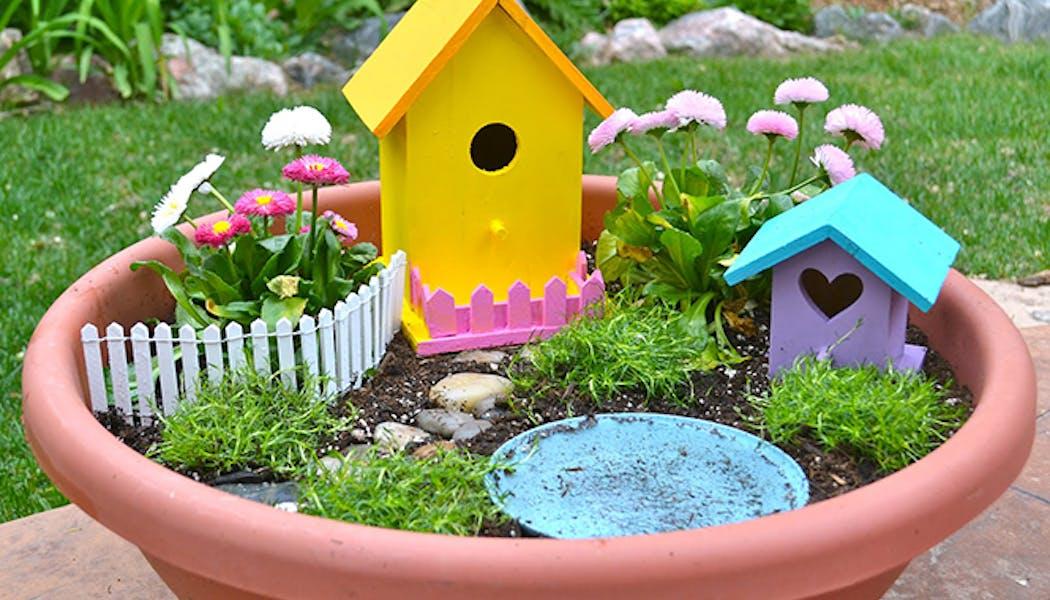 Un jardin pour les fées