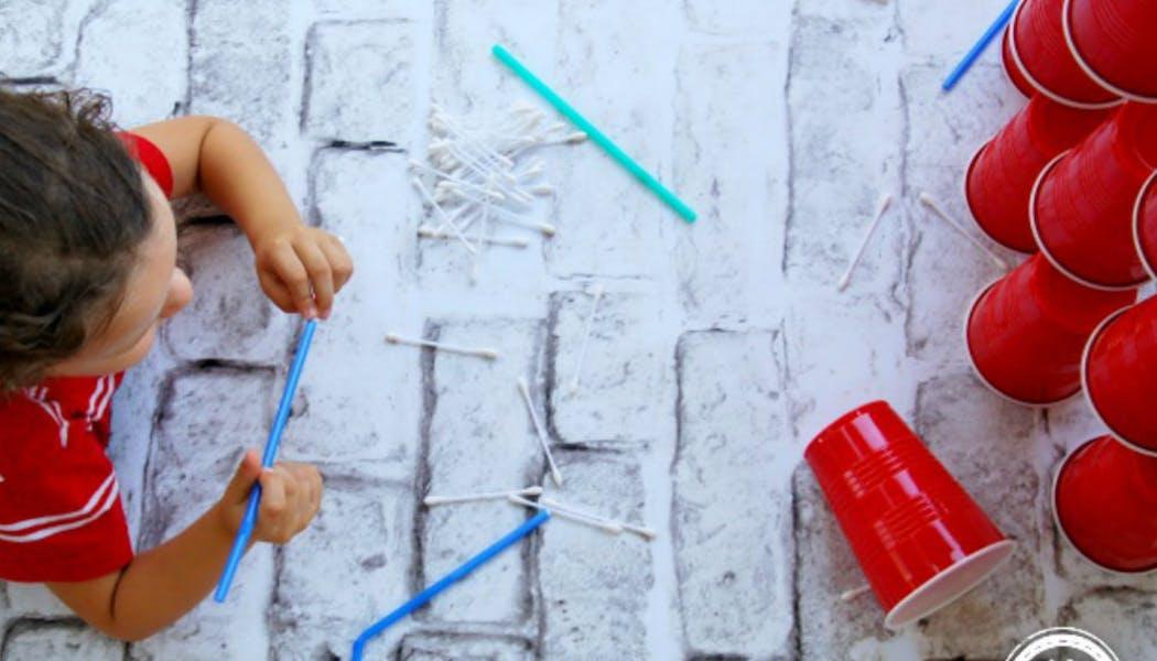 Un jeu de fléchettes pour enfants