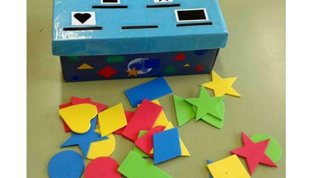 Un jeu pour apprendre les formes et les       tailles