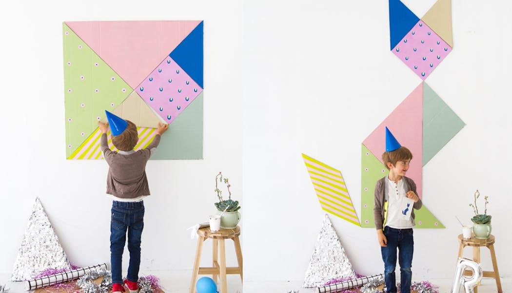 tangram géant