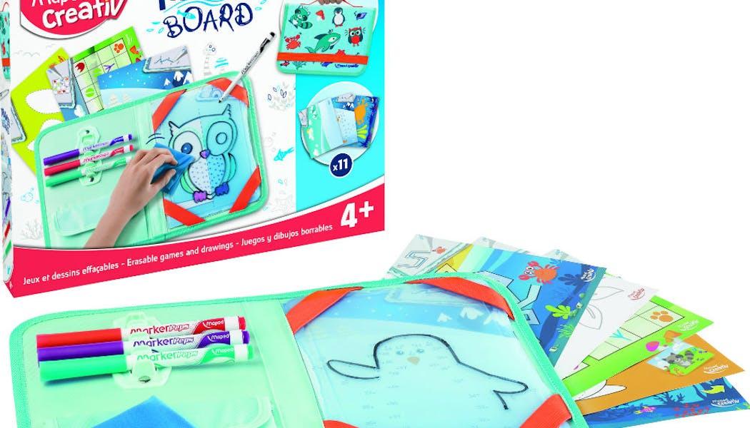 Un kit pour dessiner et jouer sur le thème des       animaux
