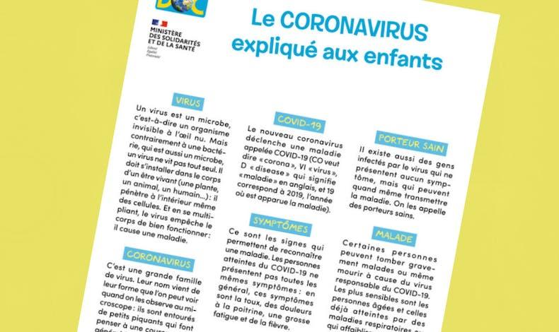 Un lexique sur les mots autour du Coronavirus