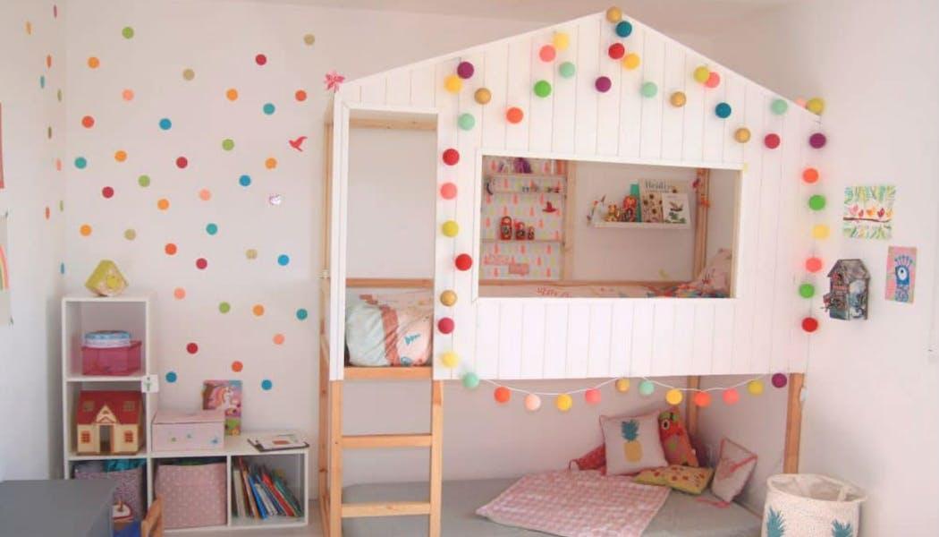 Un lit cabane 2 en 1