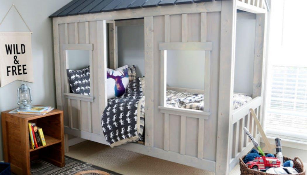 Un lit cabane comme un cocon