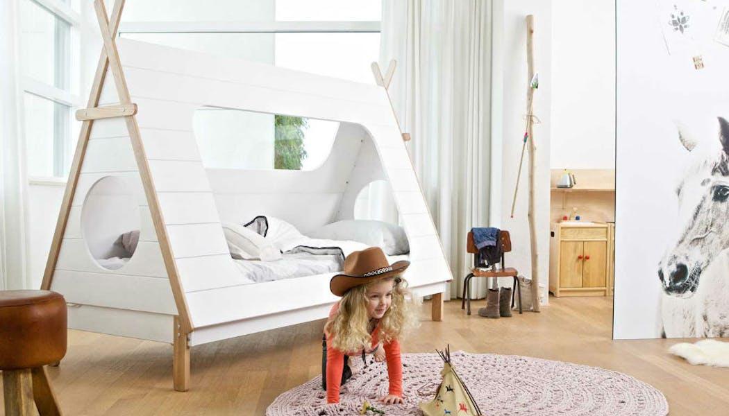 Un lit cabane pour petit sioux