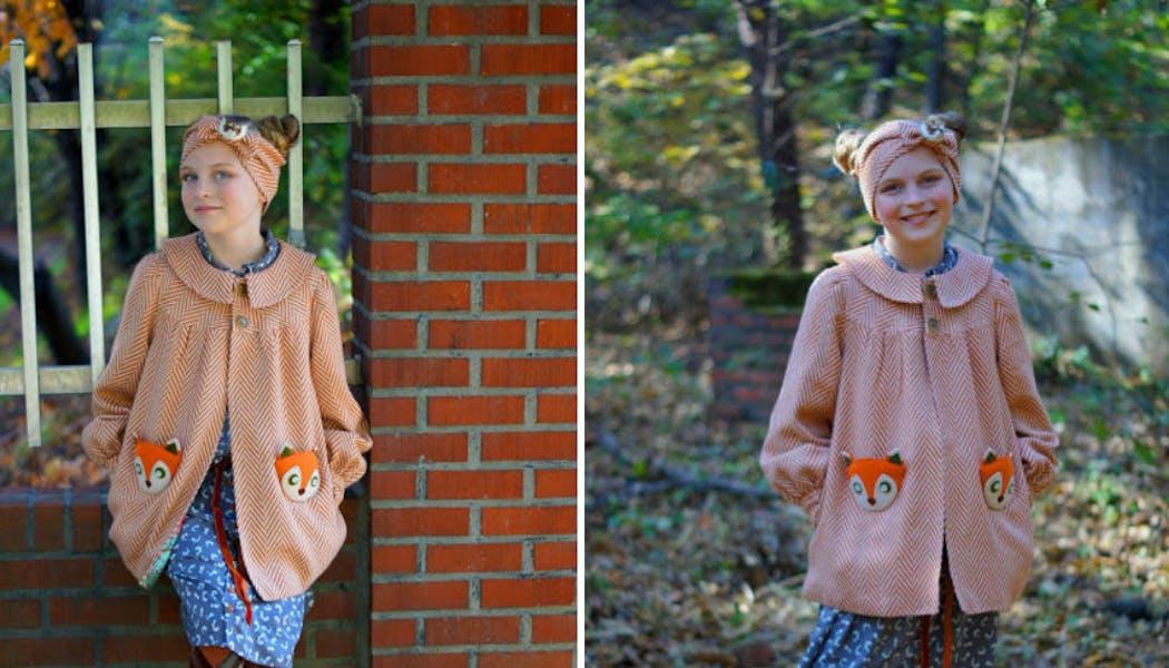 Un manteau rusé un renard